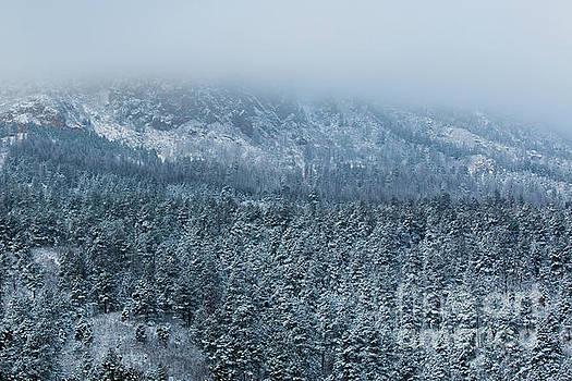 Steve Krull - Winter on Cheyenne Mountain