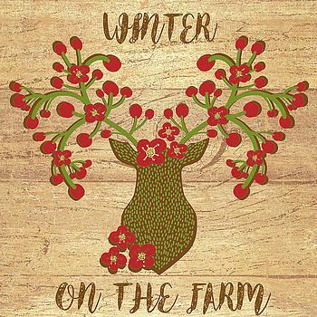 Winter on the farm by Marilu Windvand