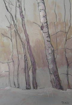 Winter on the Loop - two by Terri Messinger