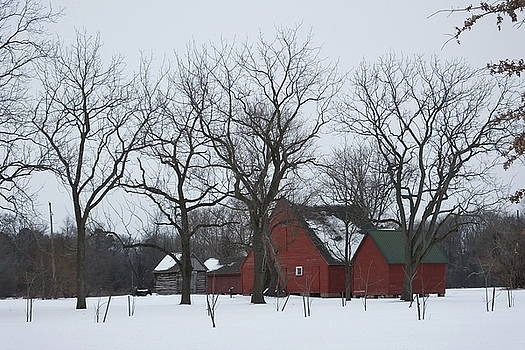 Winter on the Plantation by Francie Davis