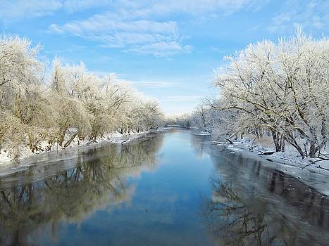 Winter on the River by Lori Frisch
