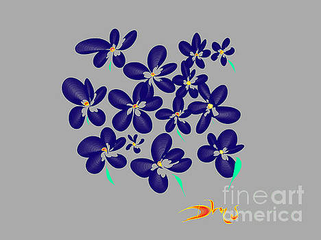 Winter Pansies by Diana Mary Sharpton