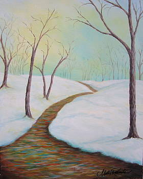 Winter path by Molly Roberts