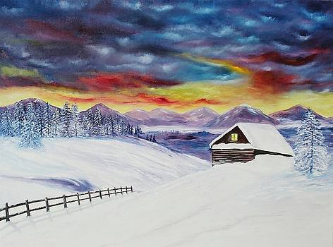 Winter Peace by Julie Lourenco