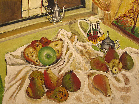 Winter pears by Vladimir Kezerashvili