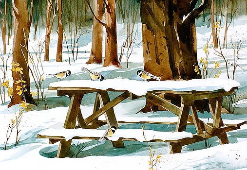 Winter Picnic by Art Scholz
