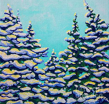 Winter Pines by Jackie Carpenter