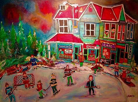 Winter Playground by Michael Litvack