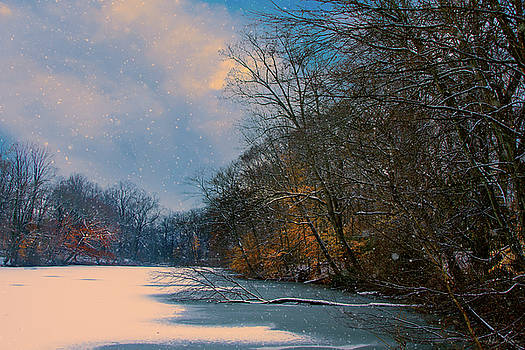 Winter Pond by John Rivera