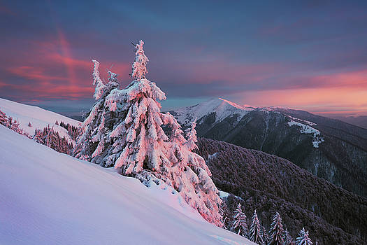 Winter rainbow by Sergey Ryzhkov