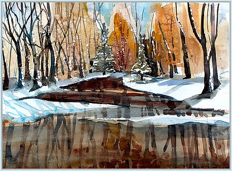 Winter Reflections by Mindy Newman