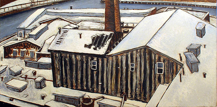 Winter roofs  by Vladimir Kezerashvili