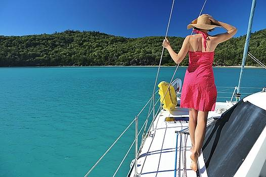 Winter sailing in the Whitsundays by Keiran Lusk