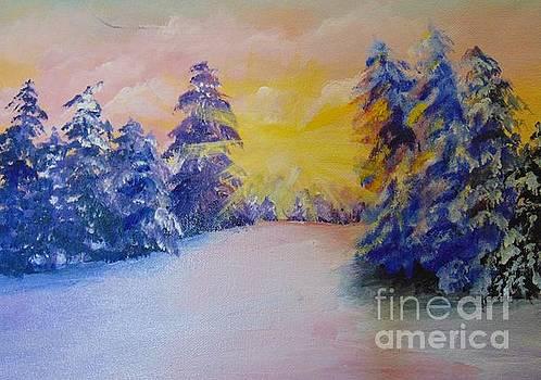 Winter by Saundra Johnson