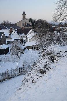 Harry Robertson - Winter Scene in North Wales