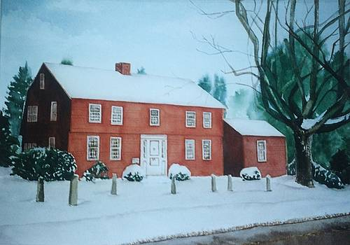 Winter Scene by Katherine  Berlin