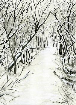 Winter scene by Nadine Dennis