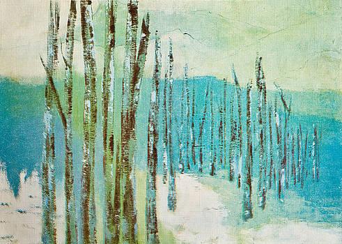 Winter Scene by Thelma Goodich