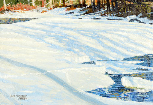 Winter Shadows by Jim Young