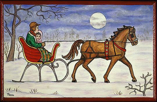 Linda Mears - Winter Sleigh Ride