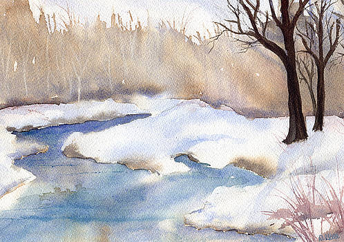 Winter Snow by Diane Hall