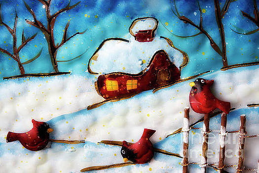 Jill Lang - Winter Snow Scene