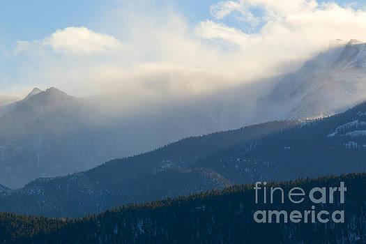 Steve Krull - Winter Snow Storm and Wind on Pikes Peak Colorado