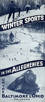 Winter Sports in the Alleghenies by Baltimore and Ohio Railroad