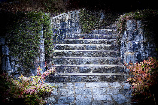 Winter Staircase by Lorna Rande