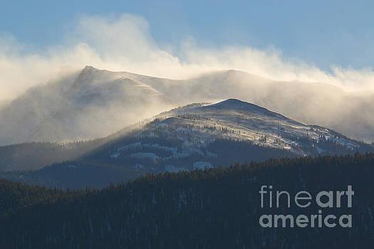 Steve Krull - Winter Storm and Wind on Pikes Peak Colorado