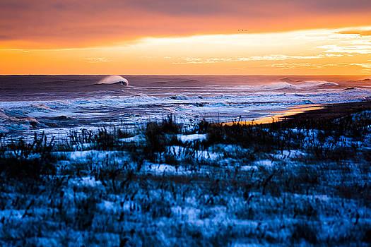 Winter Storm Jonas Sunset by Ryan Moore