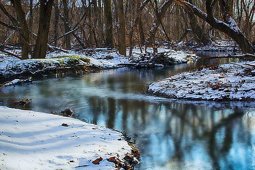 Winter Stream, PA by John Daly
