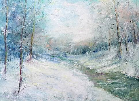 Winter Stream by Robin Miller-Bookhout