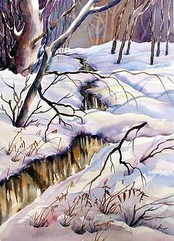 Winter Stream Two by Chito Gonzaga
