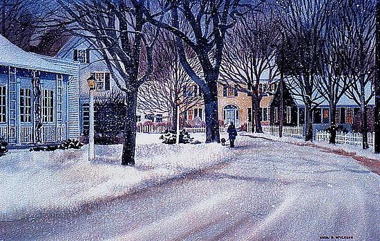 Winter Stroll by Karol Wyckoff