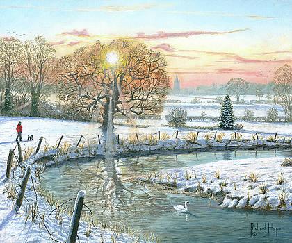 Winter Stroll by Richard Harpum