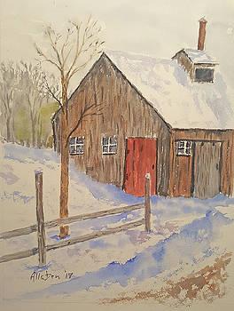 Winter Sugar House by Stanton Allaben