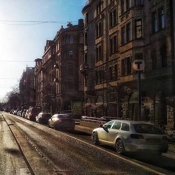 Winter sun by Per Lidvall