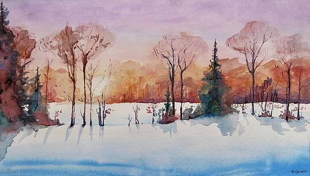 Winter Sunrise by Geni Gorani