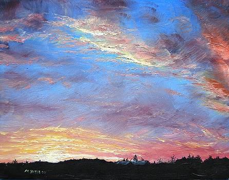 Winter Sunrise by Mike Yazel