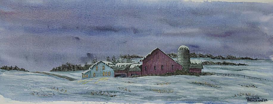 Charlotte Blanchard - Winter Sunset