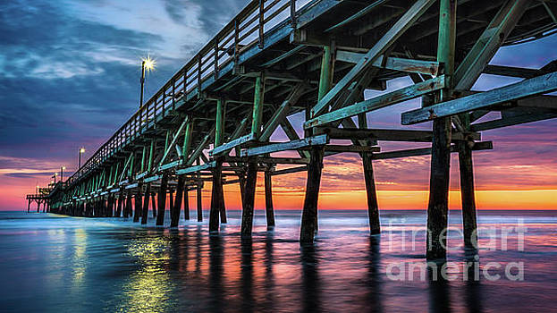 Winter Sunset by David Smith