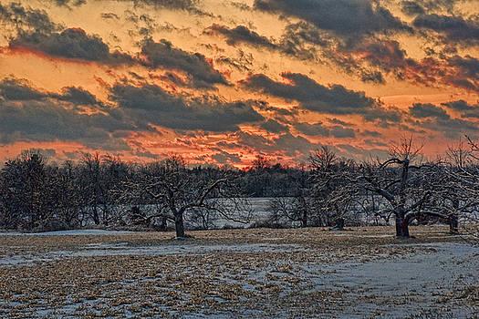 Edward Sobuta - Winter Sunset