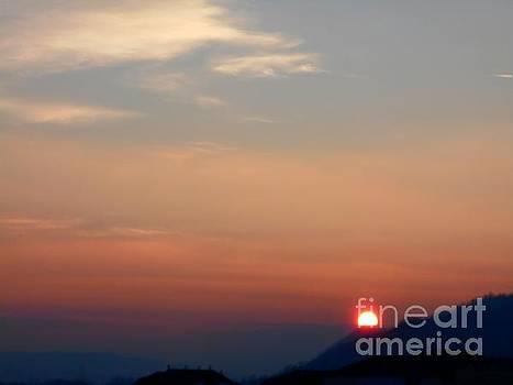 Winter Sunset by Erika H