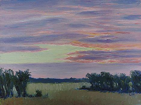 Lea Novak - Winter Sunset
