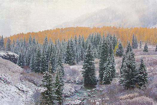 Winter Touches the Mountain by Kristal Kraft