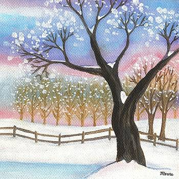 Linda Mears - Winter Tree Landscape