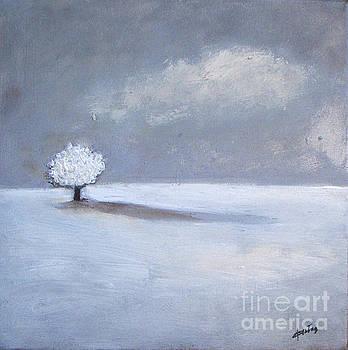 Winter Tree Shadow by Vesna Antic