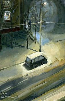 Winter Twilight by Lelia Sorokina