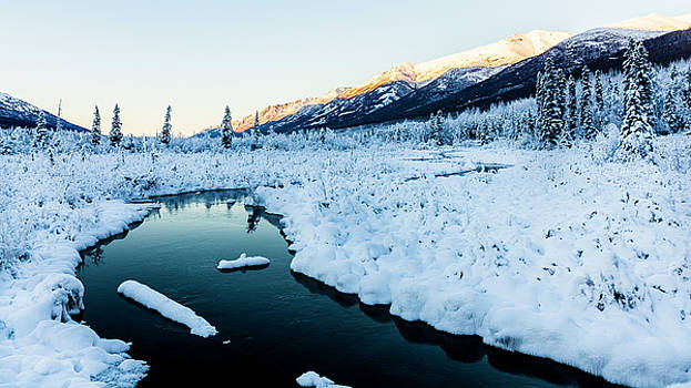 Winter Valley by Kyle Lavey